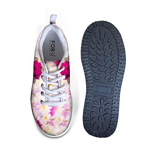 Knuffels Idee Pink Fashion Platform Sneakers Fitness Wandelschoenen Voor Dames Cat 4