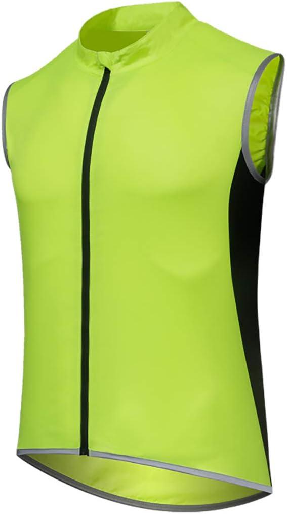 GWELL Veste de cyclisme l/ég/ère pour homme et femme Veste de pluie imperm/éable coupe-vent respirant
