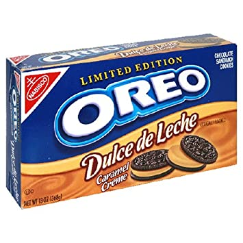 Oreo Dulce De Leche Limited Edition Sandwich Cookies, 13-Ounce Units