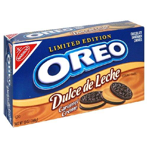 Amazon.com: Oreo Dulce De Leche Limited Edition Sandwich Cookies, 13-Ounce Units