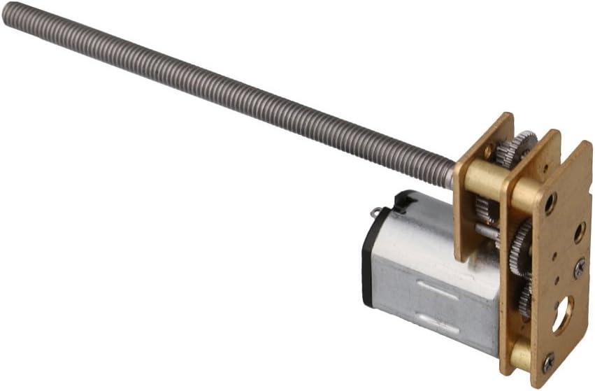 Cnbtr DC 12/V 120RPM elettrico ingranaggio micro m3/x 55/MM albero motore per robot fai da te modello giocattoli RC auto meccanico braccia 60RPM