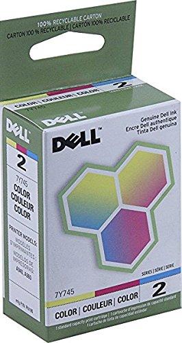 - NEW Dell OEM Ink Cartridge 7Y745 (1 Each) (Inkjet Supplies)