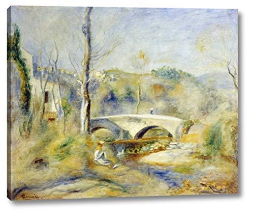Landscape with Bridge by Pierre-Auguste Renoir - 23