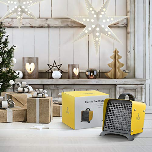 Space Heater Isiler 1500w Portable Indoor Heater Ceramic