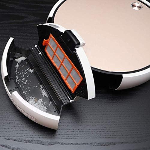 Aspirateur Robot, Recharge Automatique APP PA 1800 Contrôle et Humide Sweeper Accueil Sec, Nettoyage des Tapis ménagers ANJT