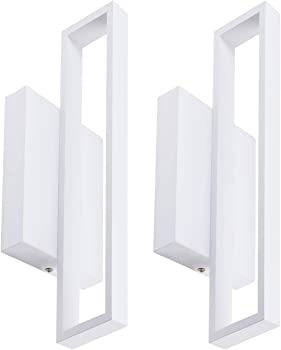 2-Pack LeonLite 12W LED Square Wall Light