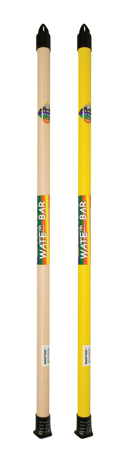 CanDo SLIM WaTE Bar - 2-Piece Bundle - 1, 2 lb