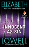 Innocent as Sin by Elizabeth Lowell front cover