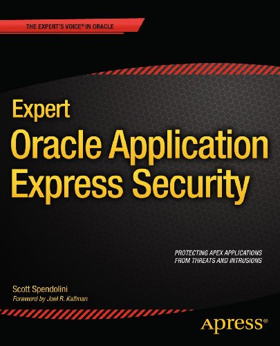 Expert Oracle Application Express Security (Expert's Voice in Oracle) Pdf