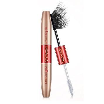 6f182fc842c BIOAQUA Brand Double Ended White+Black 3D Fiber Mascara Waterproof Makeup  Colossal Lash Rimel Curling Eyelash Extension Make Up: Amazon.co.uk: Beauty