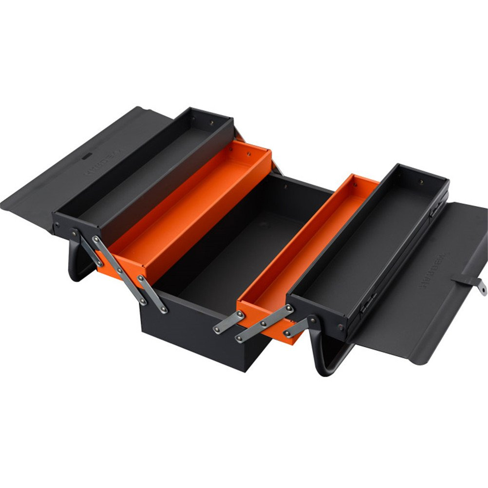 Lightdot Hardware Portable Cantilever Toolbox, 5 Drawers Metal Tools Box by HAR-DEN (Image #2)