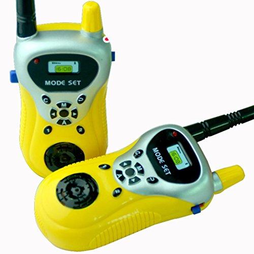 portable wireless electronic walkie talkies