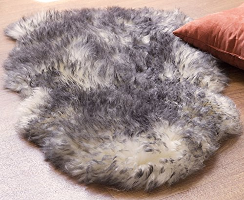 Naptime Rug - Sheepskin Rug for Indoor Use-For the Living Room, Bedroom & Open Spaces (Single Pelt)