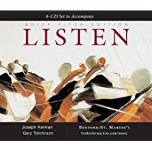 A 6-CD Set to Accompany Listen, Brief with CD (Audio)