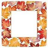 Fall Decor Thanksgiving Paper Plates Fall Wedding Autumn Decorating Dinner Plate Pk 16