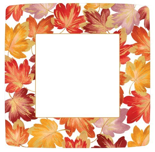 Fall Decor Thanksgiving Paper Plates Fall Wedding Autumn Decorating Dinner Plate Pk 16