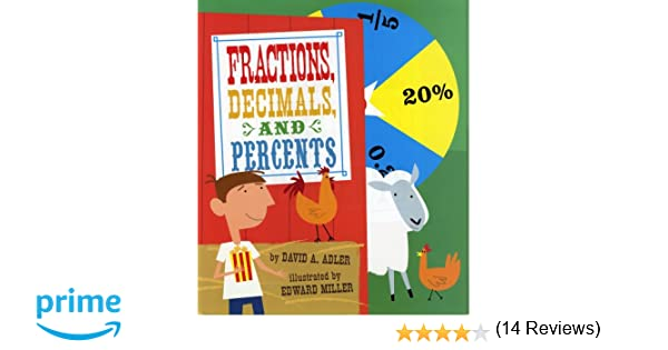 Workbook equivalent fractions worksheets pdf : Fractions, Decimals, and Percents: David A Adler, Edward Miller ...