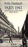Paris 1941 : journal et correspondance (extraits) par Hartlaub