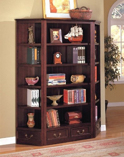 Louis-Philippe-Style-Bookcase-Set