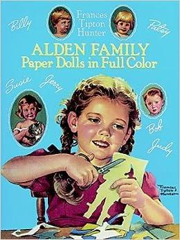 Alden Family Paper Dolls in Full Color