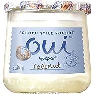 Oui by Yoplait French Style Yogurt, Coconut, Non-GMO, Gluten Free Yogurt, 5.0 oz
