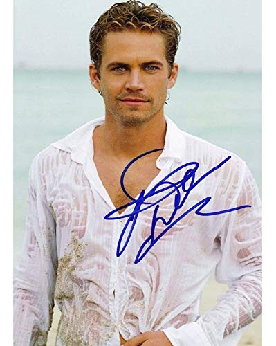 Paul Walker - Reprint 8x10 inch Photograph - Fast and the Furious