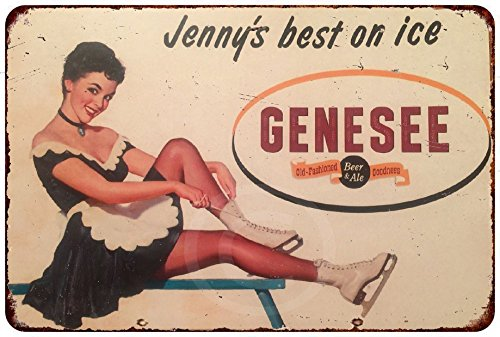 1981 Genesee Beer & Ale Vintage Look Reproduction Metal Sign 8 x 12