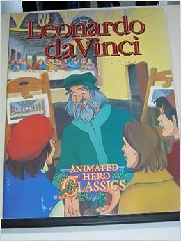 leonardo da vinci activity book animated hero classics