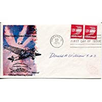 $40 » Donald Williams Tuskegee Airmen WWII War Rare Signed Autograph FDC - College Cut Signatures