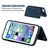 OT ONETOP iPhone 8 Wallet Case with Card