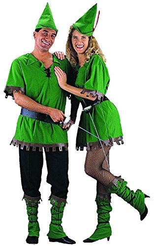 Charades Robin Hood Unisex Adult Costume Green -