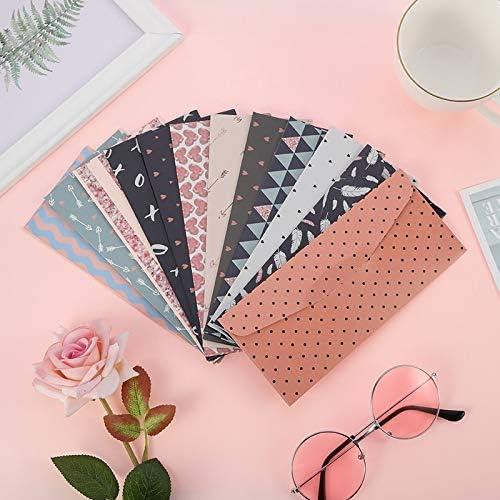 FANGDAHAI BriefpapierSupplies South Korea's Creative Writing Paper Envelope Suit Small Pure Fresh Romantic Flowers Lovely Letter Letter Papers Envelopes