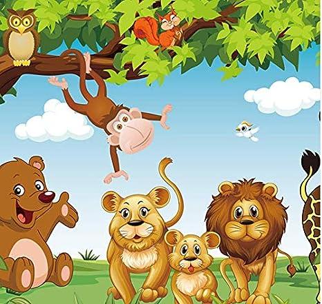zhimu Cartoon Animation Kinderzimmer Wandbild Für ...