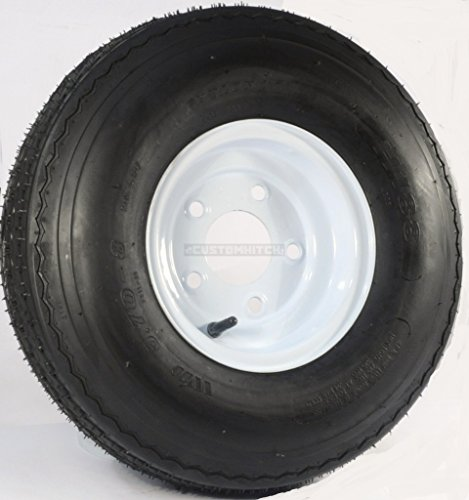 Martin Wheel 5-Hole High Speed Standard Rim Design Trailer Tire Assembly - 18.5 x 5.70 x 8