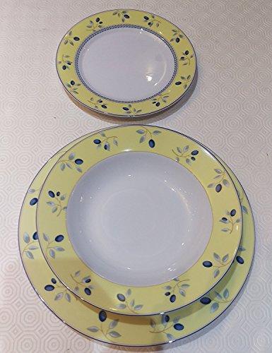 Royal Doulton Fruit Bowl (Royal Doulton Blueberry Beautiful Plates Dinnerware set)