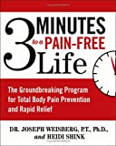 3 Minutes to a Pain-Free Life, Heidi Shink and Joseph Weisberg, 0743476476