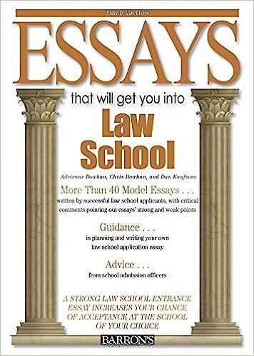 Essays on law school