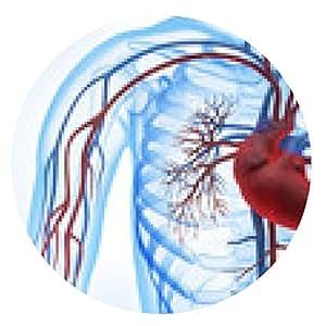 alfombrilla de ratón Cardiovascular antes de blanco 3 - ronda - 20cm