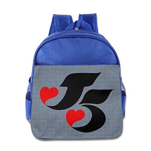 Huma The Jacksons Five Children School Knapsack RoyalBlue (Vtech Toddler Headphones)