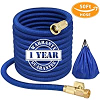 Gnozz 50ft Expandable Water Hose with 3/4