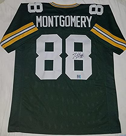 Ty Montgomery Autographed Jersey Authentic ( ty montgomery ...