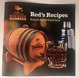 Premium Charred American Oak Aging Barrel (3 Liter) - No Engraving/Includes 12 page color barrel aged cocktail recipe booklet
