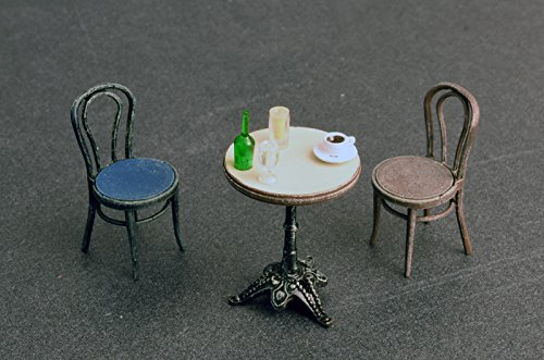 Mini Art 35569/ /Model Accessories Cafe Furniture and Crockery,