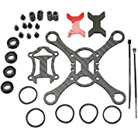 New Kingkong Smart100 Micro FPV Racing Quadcopter Spare Parts 100mm Carbon Fiber DIY Frame Kit By KTOY