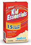 BOOST KID ESSENTIALS, W/FIBER, 1.5 CAL, VANILLA, 8 OZ, 27/CS