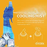 O2COOL Deluxe Handheld Powered Fan Fine Mist