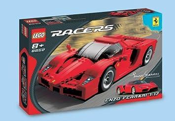 Lego Racers 8652 Enzo Ferrari 1 17 Amazon De Spielzeug