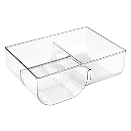 Amazon interdesign linus lid organizer for kitchen cabinet interdesign linus lid organizer for kitchen cabinet pantry storage clear workwithnaturefo