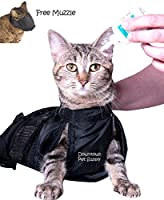 Downtown Pet Supply Cat Grooming Bag with Cat Muzzle
