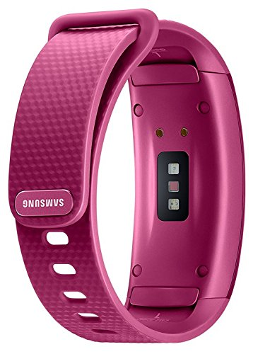 Samsung Gear Fit2 SM-R360 Sports Band Smartwatch/iPhone Compatible [Asia Version] (Pink - Small) by Samsung (Image #3)
